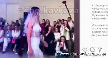 Instagram users criticize a show of wedding dresses in Makhachkala - Caucasian Knot