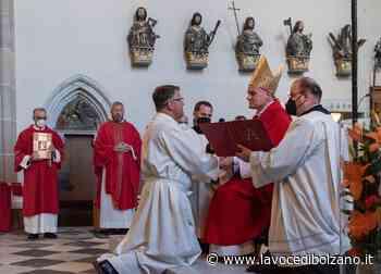 Ordinato Roman Aukenthaler, nuovo diacono permanente a Vipiteno - La Voce di Bolzano