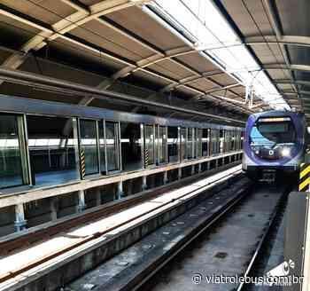 Iniciam os testes das Portas de plataforma na Estação Capão Redondo do Metrô - Via Trolebus