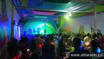 En pleno pico de pandemia se celebró fiesta masiva en discoteca de Tolú - EL HERALDO