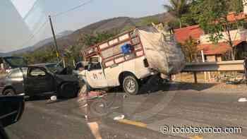 Fuerte choque en Zumpango del Río - Acapulco Guerrero - Noticias de Texcoco