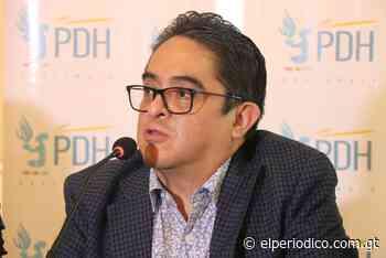 Jordán Rodas interpone denuncia por presunta campaña de desprestigio en su contra - elPeriódico (Guatemala)