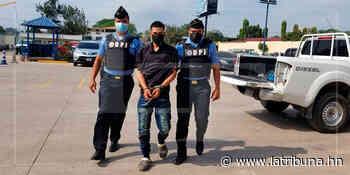 Detienen a supuesto pandillero por crimen de una persona en Sabanagrande - La Tribuna.hn