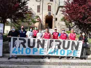FOTO   Ancarano, l'Ancaria Running partecipa alla RUN4HOPE, staffetta della solidarietà   ekuonews.it - ekuonews.it