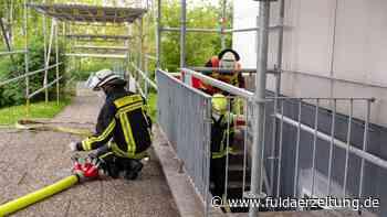 Fulda: Skateboard brennt am Aschenberg - Feuerwehr rückt an - Fuldaer Zeitung