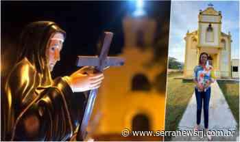 Localidades de Cantagalo prestam homenagem à padroeira Santa Rita de Cássia - Serra News