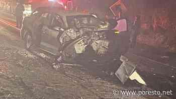 Choque vehicular en carretera Tulum-Felipe Carrillo Puerto causa cierre de vialidad - PorEsto