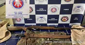 Brumado: Material utilizado para caça ilegal em área de preservação é apreendido - Bahia Notícias
