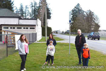 North Saanich moves ahead with crosswalk near child care centre – Peninsula News Review - Peninsula News Review