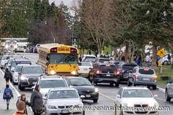 Congestion near North Saanich's KELSET Elementary School a major concern for parents, nearby residents – Peninsula News Review - Peninsula News Review