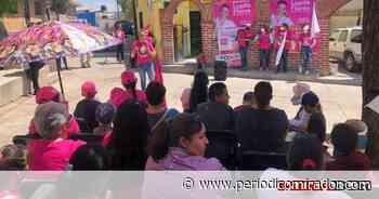 Lupita Flores 'pinta de rosa' Sombrerete - Periódico Mirador