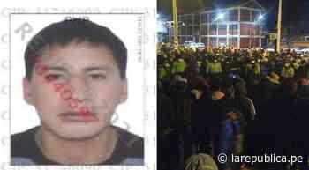 Puno: dictan prisión preventiva para asaltante de cambista en Desaguadero - LaRepública.pe