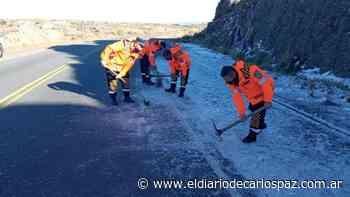 Nieve: Abrieron el camino a las Altas Cumbres - El Diario de Carlos Paz