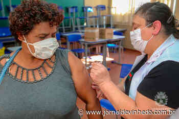 Vinhedo aplica segunda dose de Coronavac nesta terça e quarta - Jornal de Vinhedo