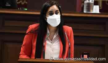 Vidina Espino recuerda a Noemí Santana que el paraguas que cubre los servicios sociales en Canarias está lleno de agujeros - Gomera Actualidad