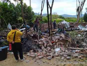 Explosión en Campoalegre; dos heridos graves - Diario del Huila