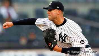 Yanks' Kluber leaves loss with shoulder tightness