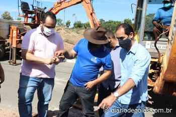 Prefeitura de Senador Canedo realiza mutirão para ligações de água no município - Diário de Goiás