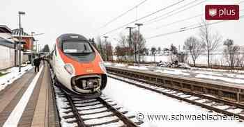 Bahnhof mit eingebauter Verspätung: Wie sich Hergatz auf Europa auswirkt - Schwäbische