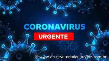 Casos confirmados de Covid-19 continuam aumentando em Ouro Fino - Observatório de Ouro Fino