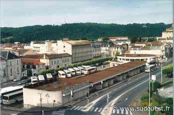 Place Francheville à Périgueux : en 2001, à la place de la gare routière, on ne voulait pas de béton - Sud Ouest