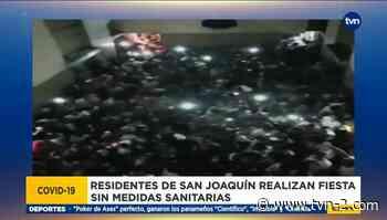 Fiesta clandestina en San Joaquín - TVN Panamá