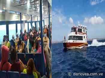 Nuevo buque presta servicio entre Araya y Cumaná - Diario Vea