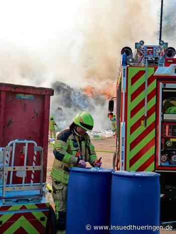 Langewiesen - Sprayflasche löste vermutlich Großbrand in Langewiesen aus - inSüdthüringen.de