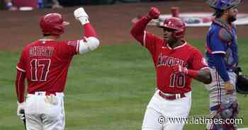 Angels didn't need Jo Adell's bat in rout over Rangers