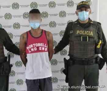 El Monterías se escapa de la Estación de Policía de Corozal y lo vuelven a capturar - El Universal - Colombia