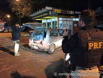 PRF prende homem transportando 163 quilos de maconha em Laranjeiras do Sul – Correio do Cidadão - Correio do CIdadão
