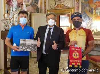 Da Bergamo e da Nembro a Palermo in bicicletta: «Insieme per ripartire» - Corriere Bergamo - Corriere della Sera