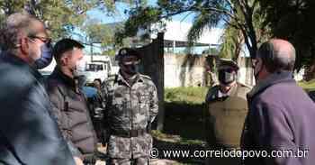 Uruguaiana recebe primeiros 60 homens que farão parte do Batalhão de Choque - Jornal Correio do Povo