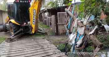 Equipes ainda recuperam áreas afetadas pelos temporais da última semana em Uruguaiana - Jornal Correio do Povo