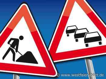 Autobahnausfahrt wird gesperrt - Westfalen-Blatt