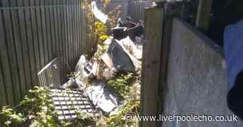 Mountain of rubbish 'left for years' in Sefton alleyway - Liverpool Echo