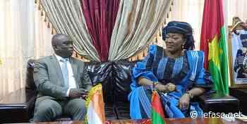 Médiateur du Faso : Le ministre ivoirien Kouadio Konan Bertin échange avec Saran Sérémé - LeFaso.net