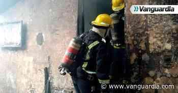 Voraz incendio consumió una vivienda en Floridablanca - Vanguardia