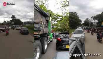 Largas filas y compras limitadas de combustible en las estaciones de Pitalito - Opanoticias