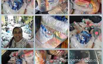 Manu Lapa fez doações de cestas básicas e feira de verduras para mais de 200 pessoas em Carpina - Voz de Pernambuco