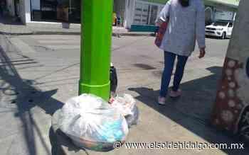 Las calles de Tepeji están convertidas en basurero - El Sol de Hidalgo