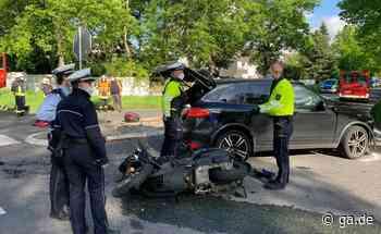 Unfall auf B56 in Swisttal: Polizei lädt flüchtigen Unfallfahrer vor - General-Anzeiger Bonn