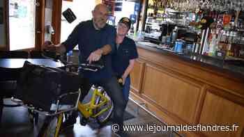 Le couple Debergue, commerçant à Bergues depuis 11 ans, se remémore les bons moments - Le Journal des Flandres