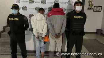 Capturaron a dos ladrones en Villamaría - BC NOTICIAS - BC Noticias