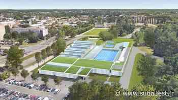 Talence : la piscine de Thouars se métamorphose - Sud Ouest