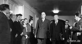 In Baden-Baden bauten Charles de Gaulle und Konrad Adenauer am Fundament Europas weiter - BNN - Badische Neueste Nachrichten