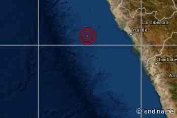 IGP reportó sismo de magnitud 4.2 en distrito liberteño de Salaverry - Agencia Andina