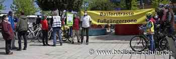 Parents for Future radeln für Fußgängerzone in Bad Krozingen - Bad Krozingen - Badische Zeitung