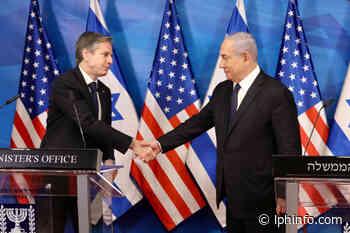 Visite d'Antony Blinken en Israël - L'info en direct d'Israël 24h/24