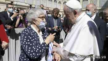 Papst trifft Überlebende des KZ Auschwitz-Birkenau - Vatican News